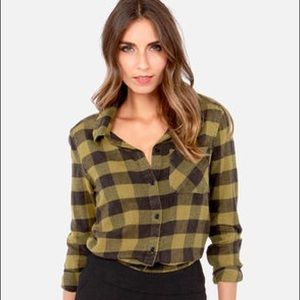 Billabong Need for Luv flannel